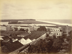 Colombo. The Fort & Lake